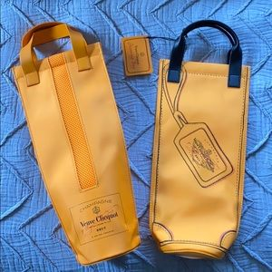 Set of 2 Insulated Wine Bags - Veuve Clicquot